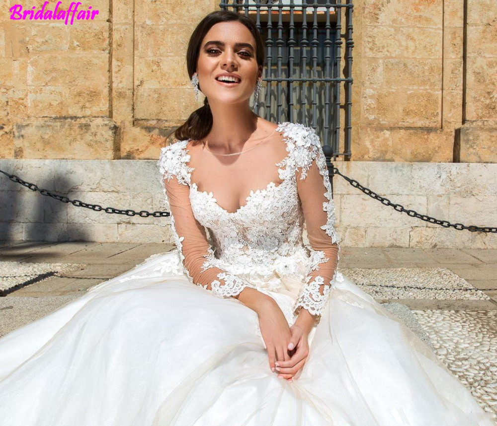 2017-modest-long-sleeves-ball-gowns-wedding