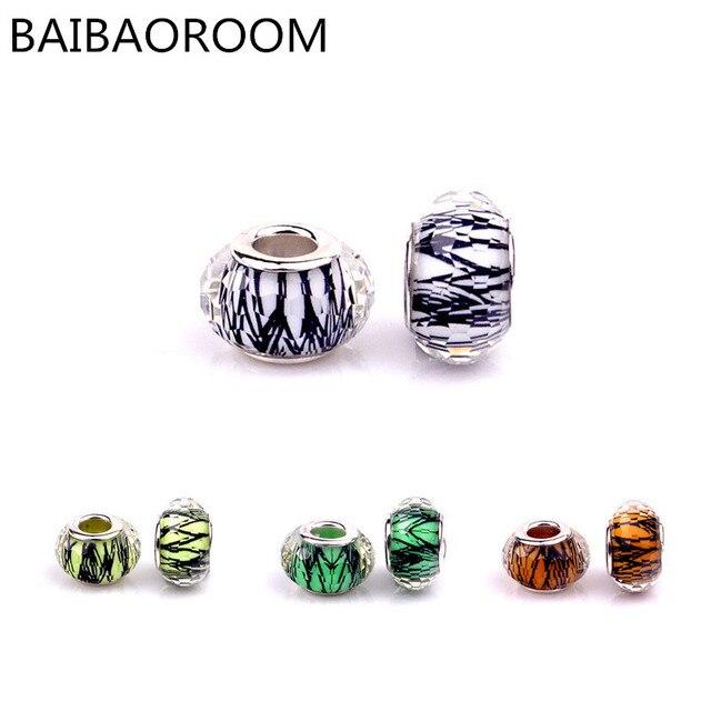 0a1cec1f7 Aliexpress best seller pattern resin beads DIY fit pandora bracelet beads  multi color optional