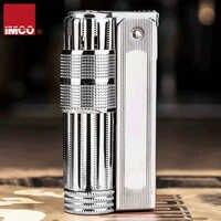 High Quality lighter gasoline Kerosene cigarette lighter Oil Petrol Refillable lighter Windproof Vintage retro style IMCO 6700