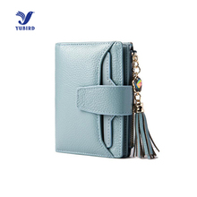 2016 Luxury Brand Wallet Women Genuine Leather Fashion Female Purse Zipper Wallets Short Clutch Femininas Card Bag Holder Gift