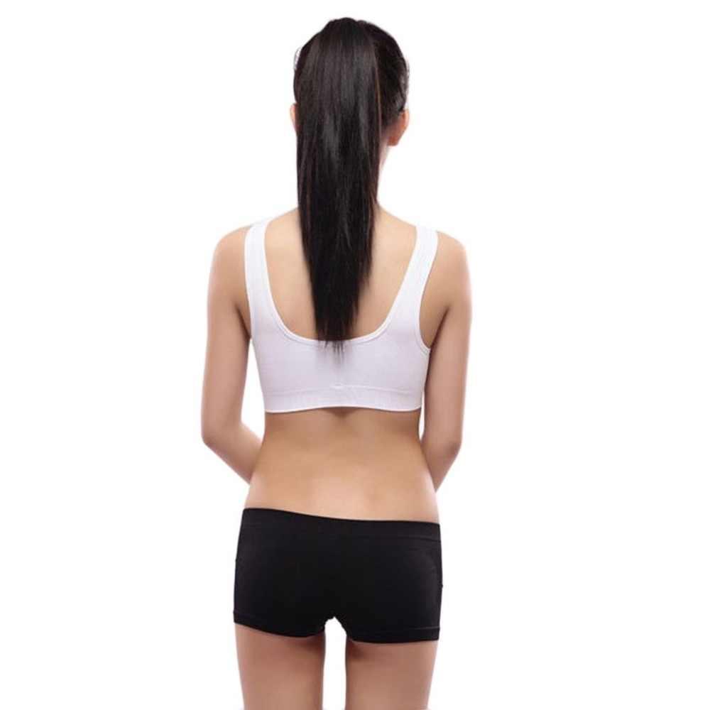 جديد عالية الجودة تنفس المرأة الرياضة البرازيلي مريحة مثير السيدات سلس مبطن تشغيل اليوغا رياضة الجري الرياضة خزان سترة أعلى