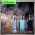 Newest 100% Original Electronic Hookah Cigarette Smokjoy Air 50 RTA Kit with Air 50w TC mod Mini Atomizer vaporizer