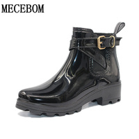 Rubber Shoes Women Rain Boots For Girls Ladies Walking Waterproof Women Boots Winter Summer Spring Ankle