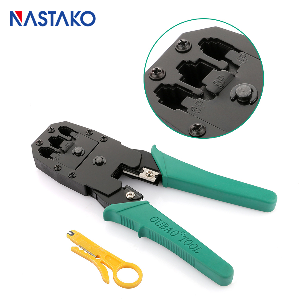 medium resolution of network tool rj11 rj12 rj45 cat5 cat5e cat6 crimper pliers 6p 4p durable wire cable accessories on telephone wiring cat 5e cable