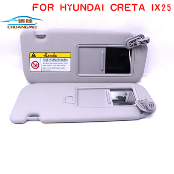 CHUANGMU For HYUNDAI CRETA IX25 Sun visor Sunshade assembly 85210-C9500TTX 85220-C9500TTX