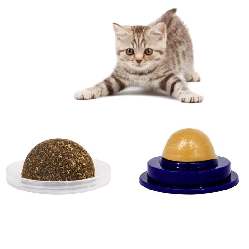 Cat Treats Sugar Ball Catnip Lamiendo Dulces Cuidado Saludable Gatito Energ/ía Nutrici/ón Caramelo S/ólido ADJU Pet Cat Snacks Candy