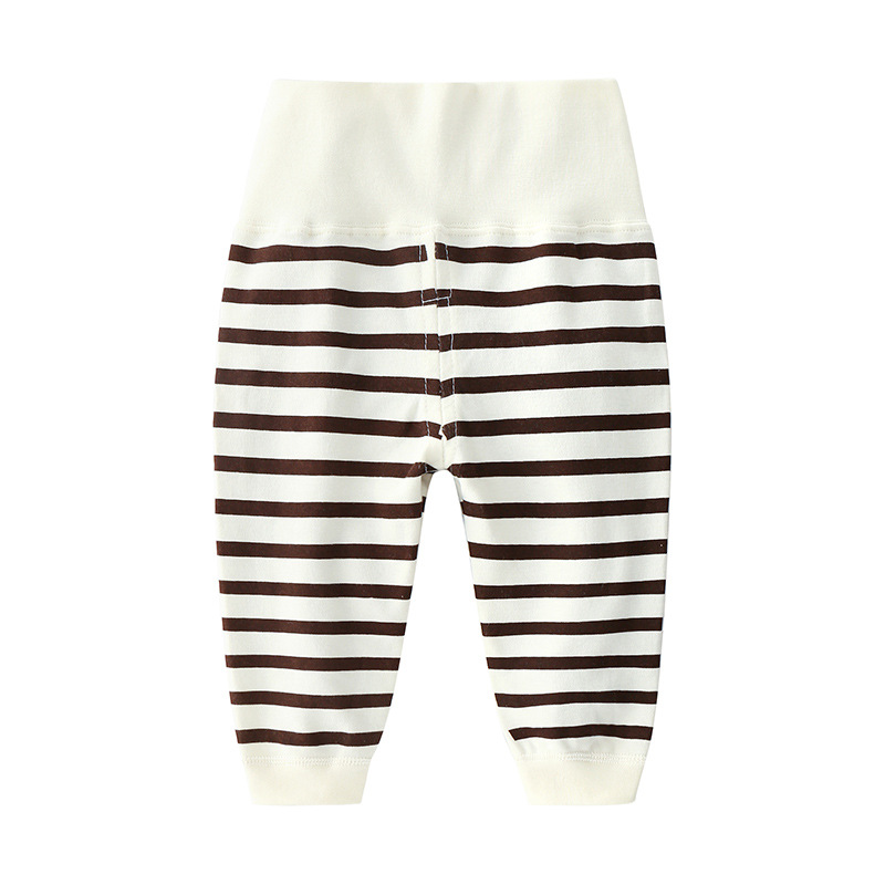 Baby Boy Pants With High Waist And Thin Baby Girl Spring And Autumn Fashion Trousers