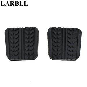 LARBLL Pair Brake Clutch pedal pad Cover For Mazda 323 626 929 B-Series B2200 B2600 Bravo E1400 E1800 MPV MX6 Premacy RX-7(China)