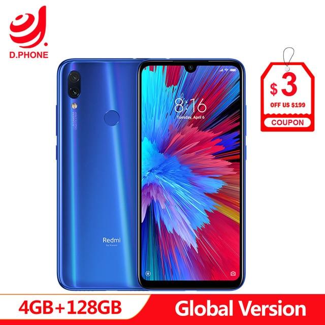 """グローバルバージョン xiaomi Redmi 注 7 4 ギガバイトの RAM 128 ギガバイト ROM スマートフォンの Snapdragon 660 オクタコア 6.3 """"フル画面 48MP デュアルカメラ"""