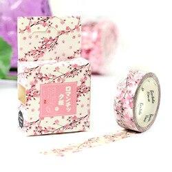 Romantic Season of Cherry Decorative Washi Tape DIY Scrapbooking Masking Tape School Office Supply Escolar Papelaria