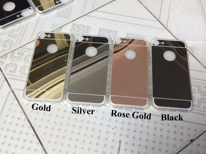 EVANKALX Mirror Case For iPhone X XR XSMAX Soft TPU edge Phone Cases For  iPhone 6 6s 7 8 Back Cover For iPhone 6 6S 7 8 Plus