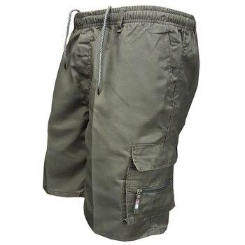 Men'S Multi Pocket Military Cargo Shorts