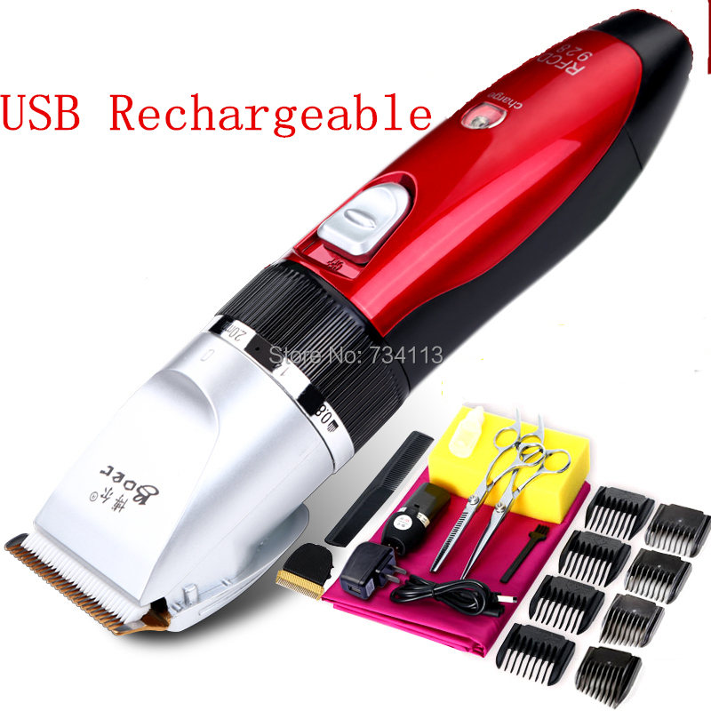 buy trimmer high quality clipper professional usb rechargeable waterproof. Black Bedroom Furniture Sets. Home Design Ideas