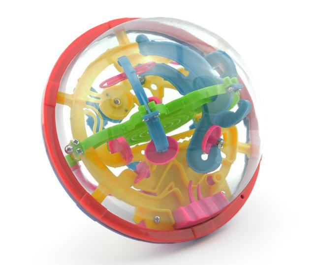 El amor puede ser dotados trompeta Mágica bola 100 de la bola laberinto 3D rompecabezas juguetes de inteligencia en alumnos de jardín de infantes