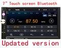 7 inch Bluetooth Стерео В Тире CD Плеер Радио Одноместный 2 DIN HD Экран Dvd-плеер В тире Стерео Микрофон бесплатно доставка
