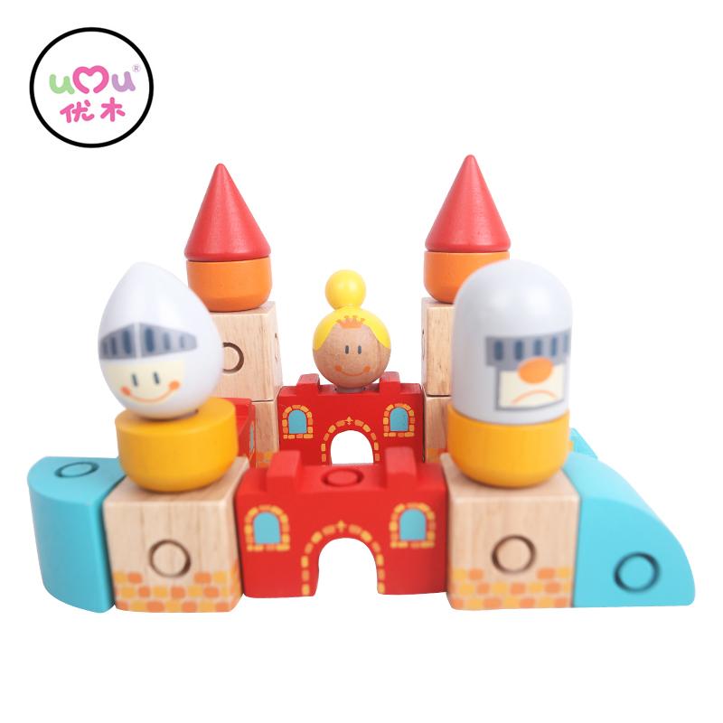 nueva llegada bloques juguetes educativos naval castillo juguetes de madera para nios de cumpleaos regalos de