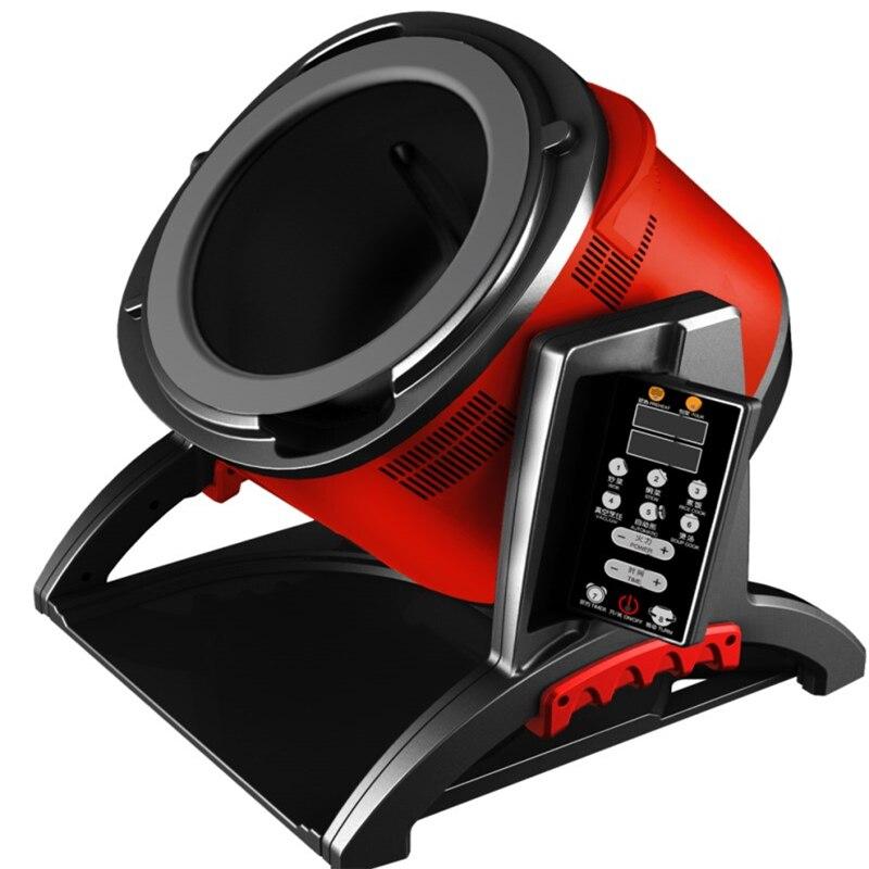 6L Nicht Stick Multifunktions Intelligente Elektrische Automatische Kochen Maschine Kochen Topf Elektromagnetische Wok Chinesischen Englisch tasten