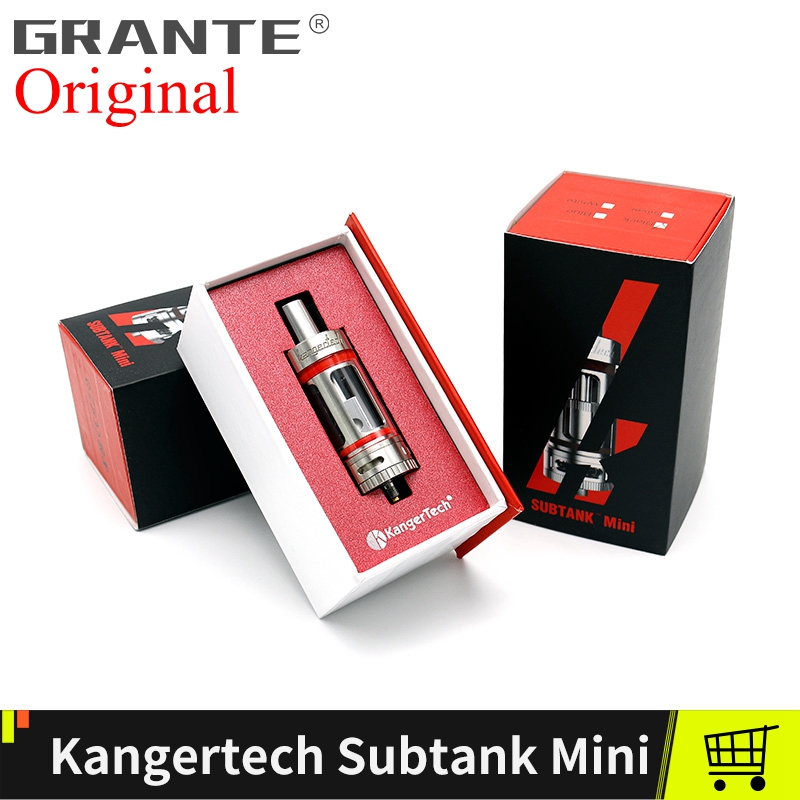Original Kangertech Subtank Mini Atomizer Tanks With Kanger Subtank Mini Plus RBA OCC Coils 4.5ml Vape Tank Vaporizer Kanger