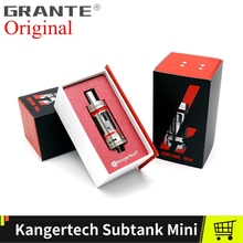 Oryginalny Kangertech Subtank Mini Atomizer zbiorniki z Kanger Subtank Mini Plus RBA OCC cewek 4 5ml Vape zbiornik parownik Kanger tanie tanio Wymienne TOPBOX Kit Metal