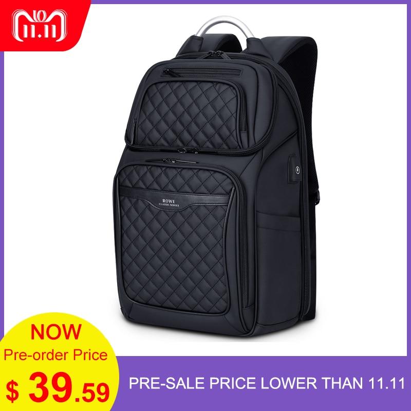 4d9f809e908 FRN Men Backpack Multifunction USB 17 Inch Laptop Mochila Fashion Business Large  Capacity Waterproof Travel Backpack For Men   Babuee