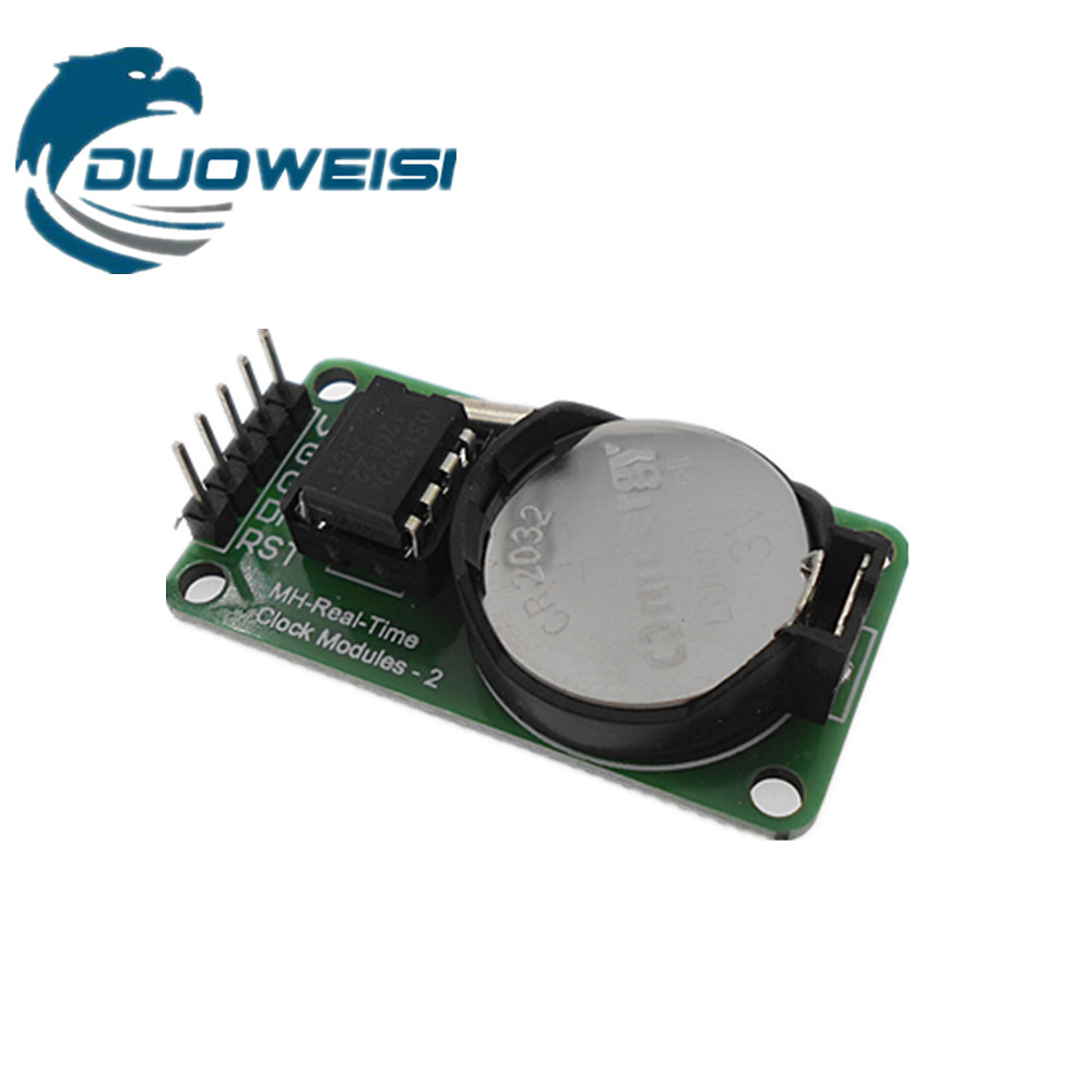 New Arrival RTC DS1302 Real Time Clock Module For AVR ARM PIC SMD for ArduinoNew Arrival RTC DS1302 Real Time Clock Module For AVR ARM PIC SMD for Arduino
