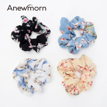 2 Pcs/lot Anewmorn Women Small Fresh Hairbands Girls Lady Ponytail Elastic Scrunchies Hair Accessories Headwear(China)