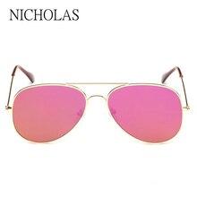 CALIENTE gafas de Sol Mujeres de Los Hombres de Metal gafas de Sol de Espejo Reflectante Plana Para Las Mujeres Oculos gafas De Sol Luneta de Soleil Feminino mujer