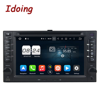 Idoing 2G 32G Steering Wheel 2 Din Android 6 0 For Kia Ceed Universal Car DVD