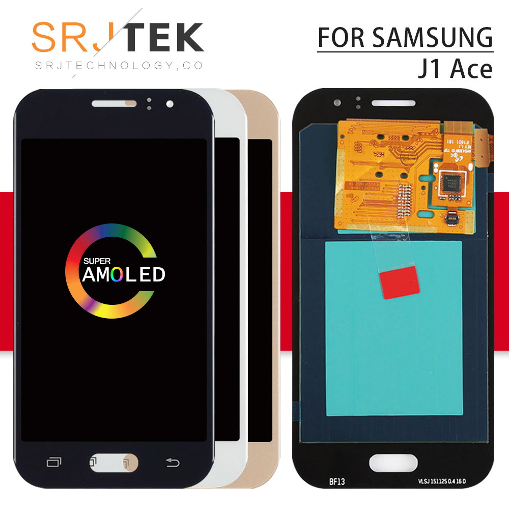 AMOLED/TFT For <font><b>Samsung</b></font> Galaxy <font><b>J1</b></font> <font><b>Ace</b></font> <font><b>LCD</b></font> Display Touch Digitizer Sensor Glass Assembly For <font><b>Samsung</b></font> J110 Display J110H J110F image