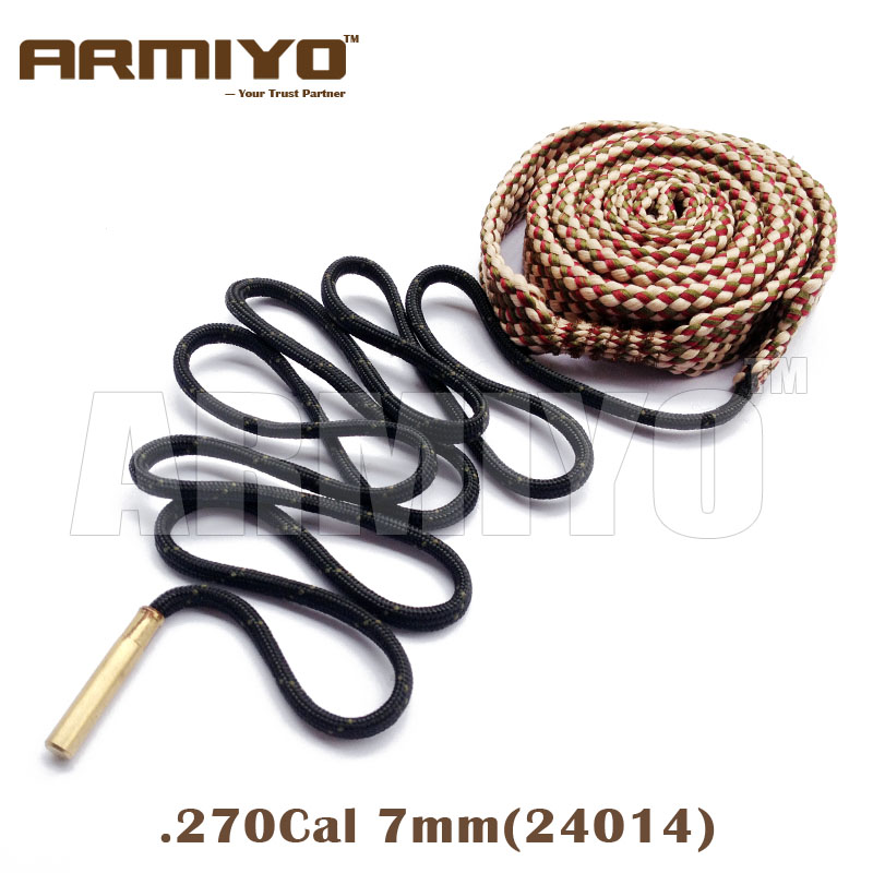 Armiyo Bore Snake .270 7mm .284 .280 Cal Gun Bore Cleaning Sling Barrel Cleaner 24014 Hunting Shooting Accessories