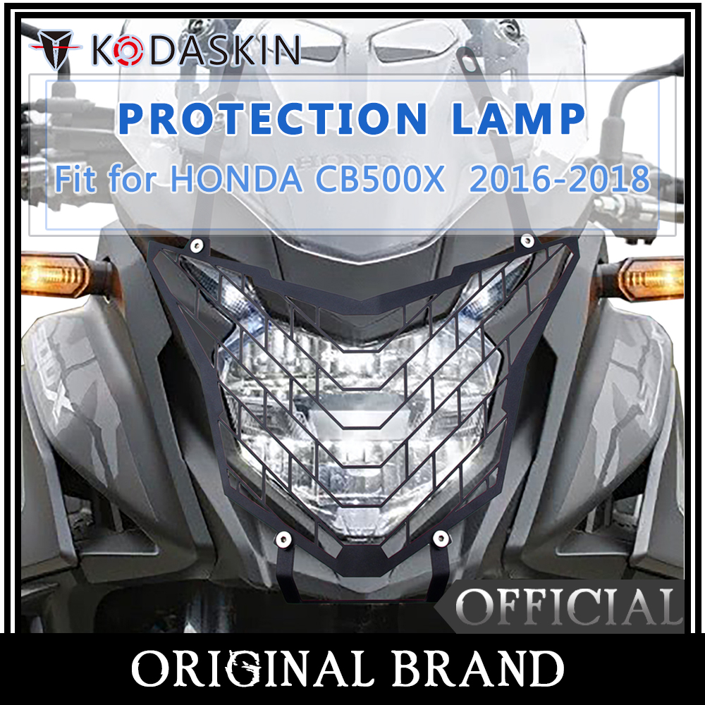 KODASKIN Headlight Protection Cover Grille Guard for Honda <font><b>CB500X</b></font> 2016 2017 <font><b>2018</b></font> <font><b>cb500x</b></font> image