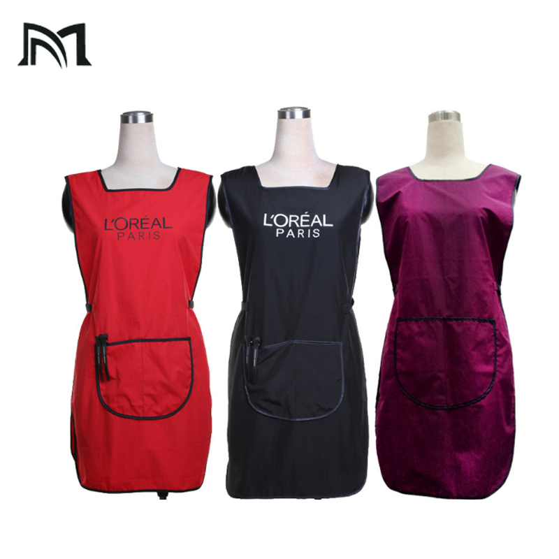 3PCS Salon Professional Hair Styling Cape hairdresser hairpin work apron  Special haircut for baked oil Sleeveless Protect Vest