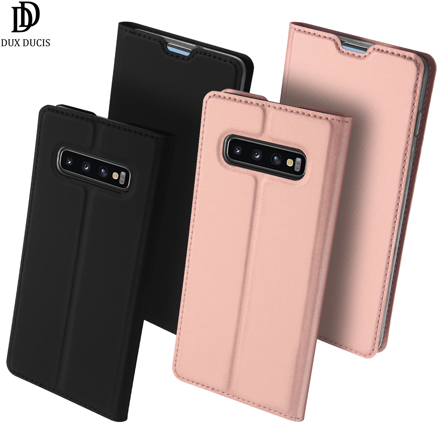 Flip Case For Samsung Galaxy S10 6 1 quot PU Leather TPU Soft Bumper Protective Cover Card Slot Holder Wallet Stand Mobile Phone Bag in Flip Cases from Cellphones amp Telecommunications