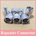 10 pcs/lot N To F Connector Adaptor for Signal Repeater Amplifier, N Male to F Female Connector Fit for Mobile Amplifier