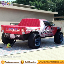Bingo 26ft inflatable truck inflatable all printing truck with blower for car show / event inflatable toy