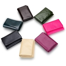 Fashion multi-function Wallet Top Quality women wallets soft genuine leather Female Small Coin Pocket wallets with coin bag