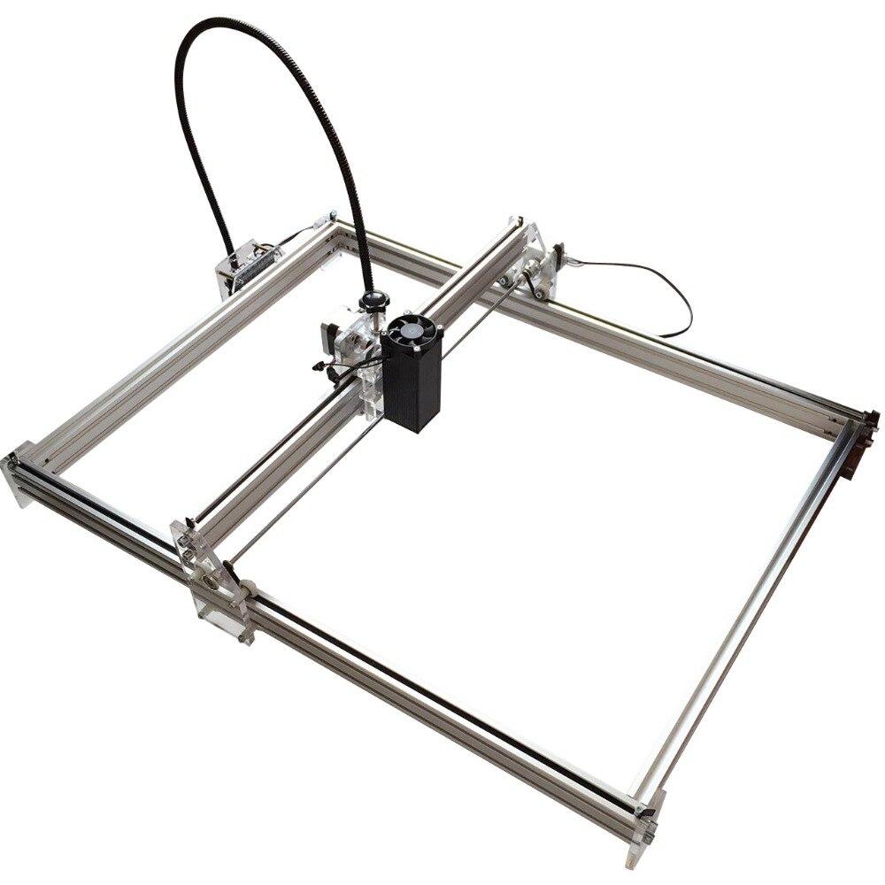 15 w Mini bureau bricolage Laser gravure graveur machine de découpe marque sur métal 100*100 cm grand worke zone laser cutter 10 w, 15 w - 4