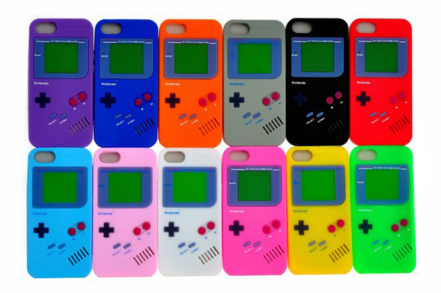 carcasa iphone nintendo