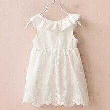 Solid White Girl Dresses