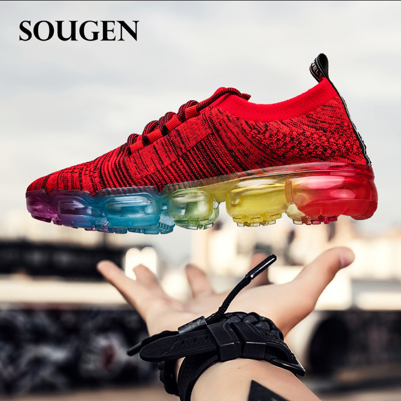 Men Sport Shoes Male Shoes Adult Sneakers Shoe Large Size Plus Size 47 Casual Footwear Mens Trainers Krasovki Men Superstar Red male shoes adult men sport krasovki superstar shoe leather summer footwear walking shoes for men mens trainers fashion hot sale