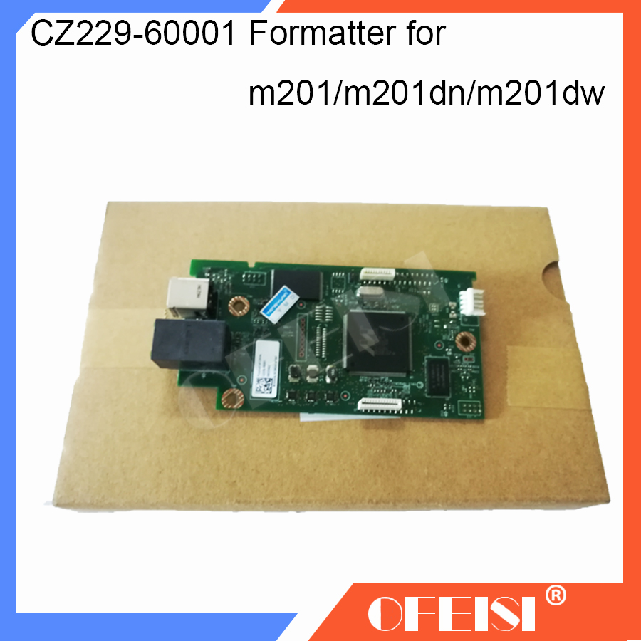 Original New CZ229-60001 Formatter Board PCA Assy logic Board MainBoard mother board for HP M201 M201n M201dn M201dw printerOriginal New CZ229-60001 Formatter Board PCA Assy logic Board MainBoard mother board for HP M201 M201n M201dn M201dw printer