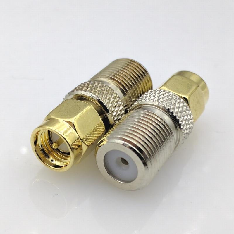 HU15 SMA female jack to SMA female jack Straight RF Connector Adapter Plug Lot