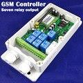 GSM-RELAY Direkt fabrik Sieben relais ausgang GSM controller für industrielle fernbedienung