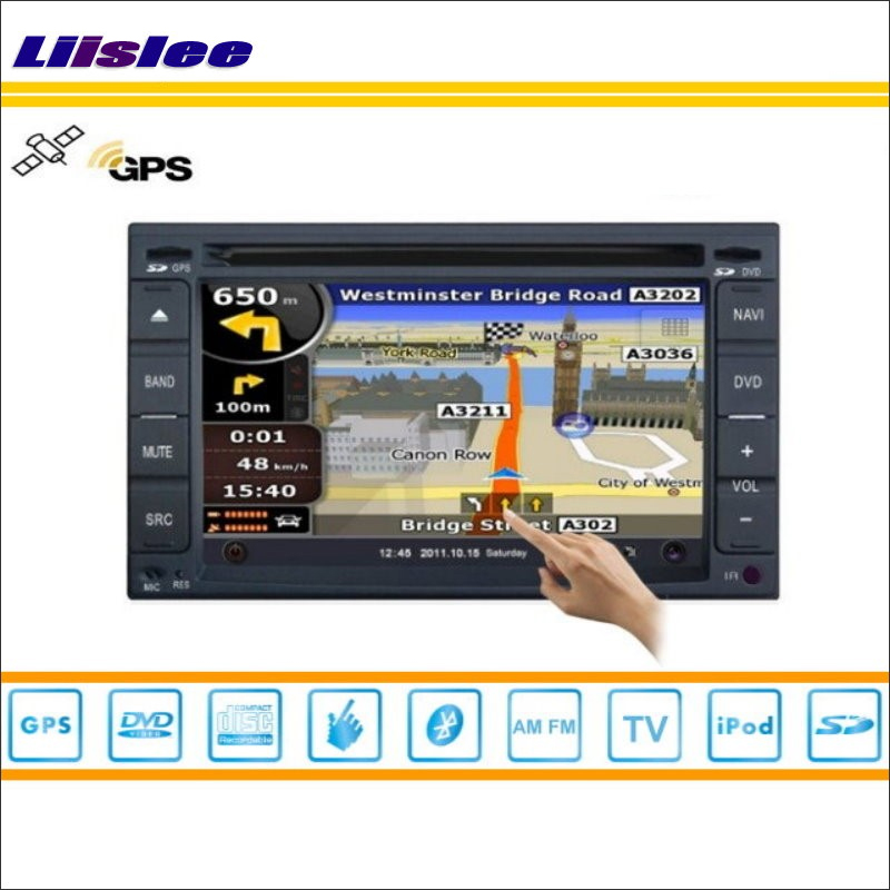 Liislee для Hyundai Tiburon 2001 ~ 2008 автомобилей s160 стерео Мультимедиа Системы Радио CD DVD GPS Географические карты nav Navi навигации HD Сенсорный экран