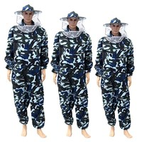 New Pants Veil Bee Protecting Dress Camouflage Beekeeping Suit Protective Safety Clothing Beekeeper Bee Suit Smock