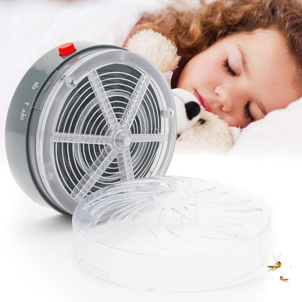 Solar Mosquito Killer Buzz Zapper Home Kitchen UV Light Insect Pest Rejector