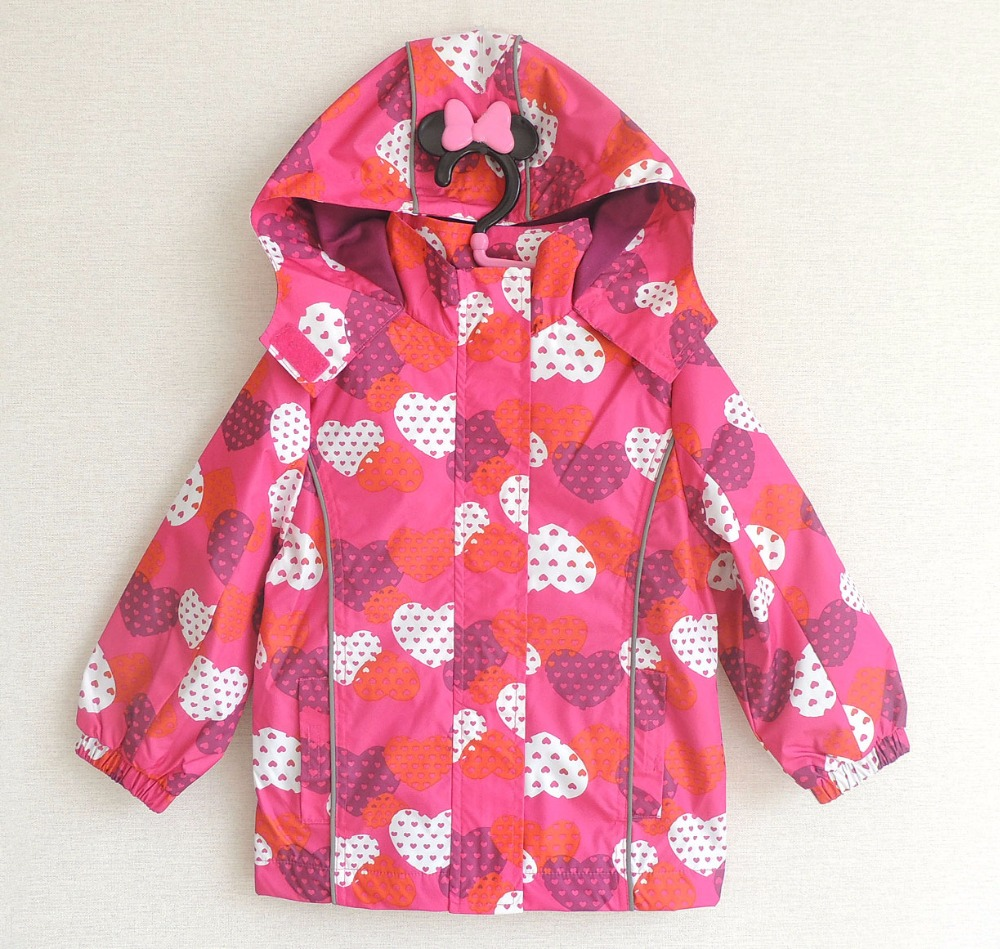 90238bb5c Free shipping children kids girls waterproof windproof jacket ...