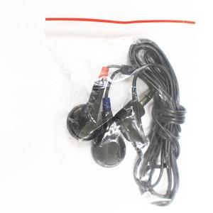 Image 3 - สีดำหูฟังสเตอริโอDE 05ทิ้งe arbudsชุดหูฟังราคาถูกหูฟังสำหรับการเดินทางรถบัส