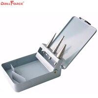 Drillforce 3PCS 1 8 1 2 3 16 1 2 1 4 3 4 HSS Hand
