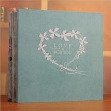 Large 18inch Scrapbooking Photo Album Handmade DIY Hard Paper Wedding Memory Scrapbook Picture Albums